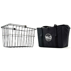 133 Quick-Release Basket & Insulated Bag Combo